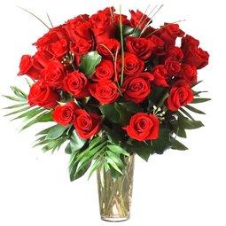 39 trandafiri rosii