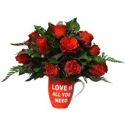 Aranjament de Valentine's Day