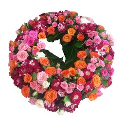 Aranjament floral pentru masa cu pahare de sampanie