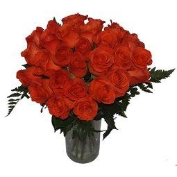 Buchet de trandafiri portocalii