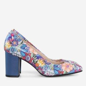 Pantofi dama din piele naturala imprimata Jessica