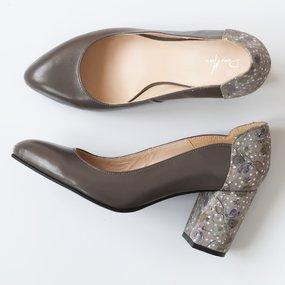 Pantofi din piele naturala Karen