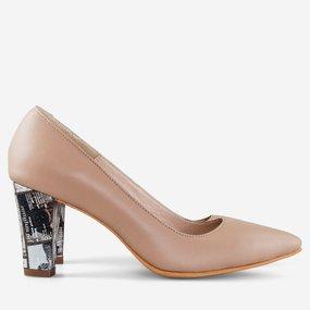 Pantofi office din piele naturala Nora