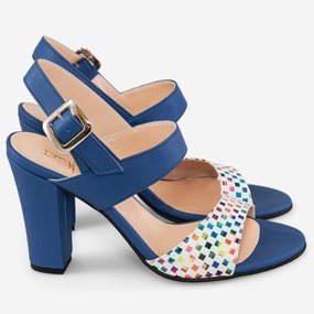 Sandale din piele naturala Blue Dream