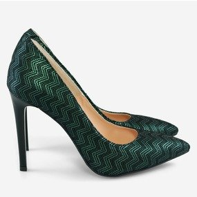 Stiletto din piele naturala Perfect Fall