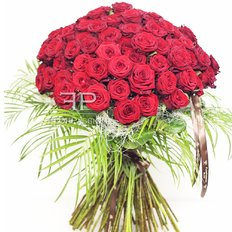 101 Red Roses Bouquet | Best Florist in Milan | Flowers Delivery