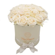 24 White Rose Box | Million Roses | FlorPassion Milano