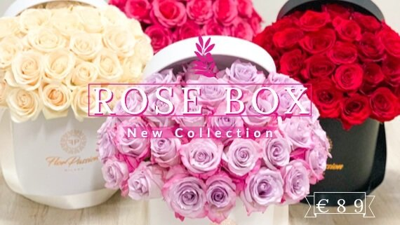 Rose Box FlorPassion Milano