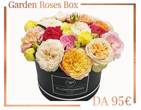 Garden Roses Scatola FlorPassion Milano