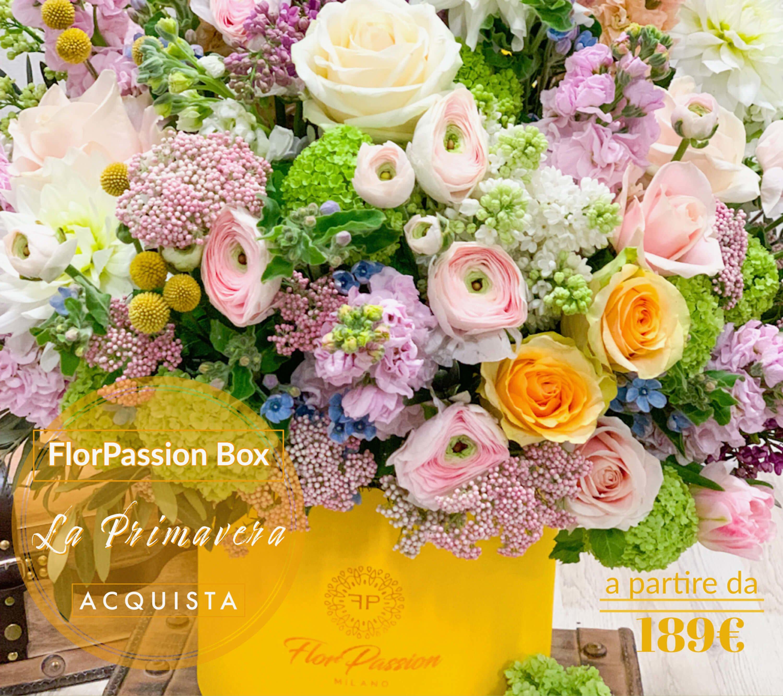 La Primavera FlorPassion Box Fiori a Domicilio