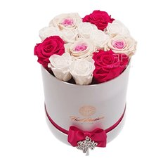 Preserved Rose Box | Send Flowers to Milan | Local Luxury Florist
