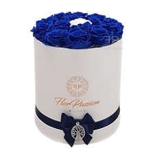 Preserved Blue Roses Box | Million Flowers | FlorPassion Milan Local Florist