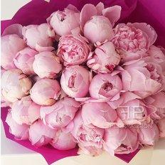 Bouquet Peonia Rosa