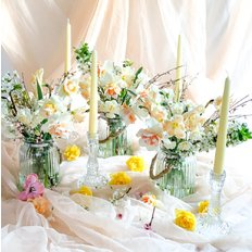 Easter Centerpiece | Local Organic Seasonal Flowers | Flower Farm FlorPassion