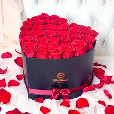 Endless Romance Forever Roses Heart