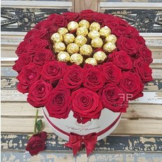 Ferrero Red Roses Box