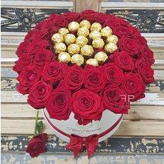 Ferrero Red Roses Box