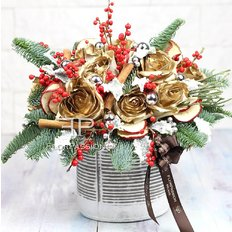 Christmas Centerpiece | Sending Flowers to Milan | Best Milan Florist
