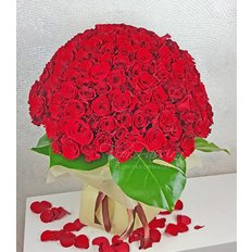 Bouquet 365 Rose Rosse | Spedire Rose Milano