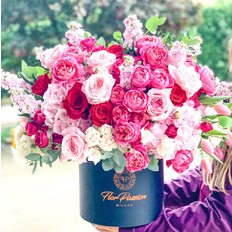 Bloom Box Same Day Delivery to Milan Monza Como | FlorPassion Best Local Florist