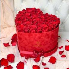 Love Me Forever Roses Heart