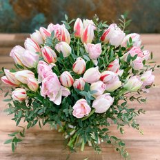 Pink Tulips Bouquet | Flowers Delivery to Milan Monza Como