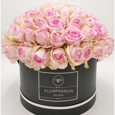 Pink Roses Dome Box