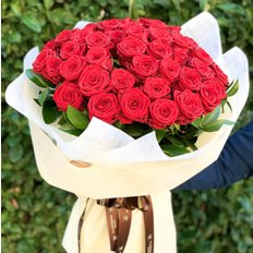 50 Red Naomi Roses Bouquet