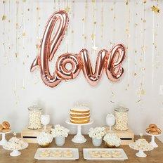 Palloncino Rose Gold Love | Consegna Fiori e Palloncini Milano San Valentino | FlorPassion