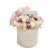 Scatola Rose Vip Roses | Fiori Natale Milano | Fiorista FlorPassion