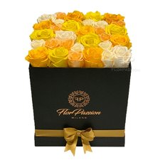 Preserved Roses Box | Forever Birthday Gift | Luxury Florist