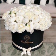White Peonies | FlorPassion Local Milan Florist | Online Flowers
