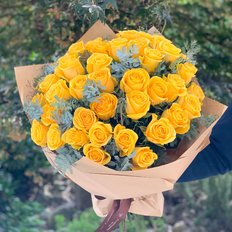 Yellow Roses Delivery to Milan Monza Como | Online Flower Shoo FlorPassion