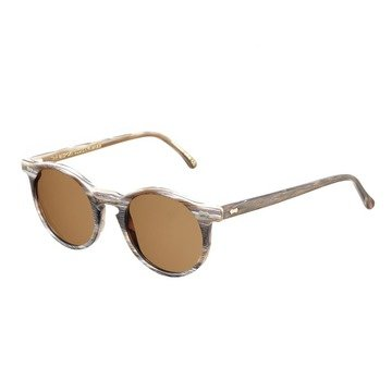 CANVAS BROWN BRUSHED FRAME - TOBACCO LENSES