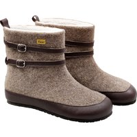 Adult wool boots NANOOK - Brown