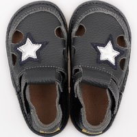 Barefoot kids sandals - Classic Rock Star