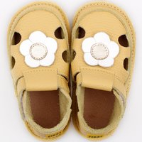 Barefoot kids sandals - Classic Sunflower