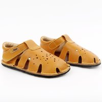 Barefoot sandals - Aranya Mustard 19-23 EU