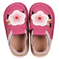Barefoot kids sandals - Classic May flowers