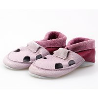 Multicolor soft shoes - Lilac