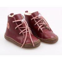 OUTLET Barefoot boots - Beetle Bordeaux 19-23 EU