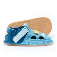 OUTLET - Barefoot kids sandals - Golden Fish