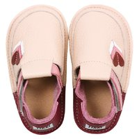 OUTLET Barefoot kids shoes - Little hearts