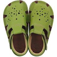 OUTLET - Barefoot sandals - Aranya Lime 19-23 EU