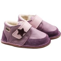 OUTLET - Barefoot wool boots - Purple Rock