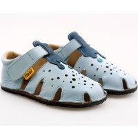 OUTLET - Sandale Barefoot - Aranya Blue Ice 24-32 EU