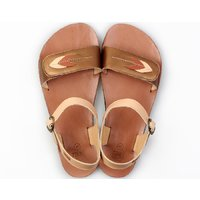 OUTLET - 'VIBE' barefoot women's sandals - Browny Leaves