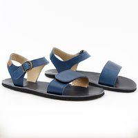 OUTLET VIBE leather - Navy
