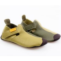 OUTLET Ziggy leather - Green Duo 24-32EU