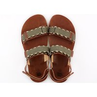 Sandale barbati barefoot - MOSS - Brown